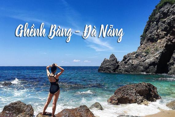 Ghềnh Bàng Đà Nẵng - Bãi dài với biển xanh, cát trắng nắng vàng và những hàng dừa ngả bóng