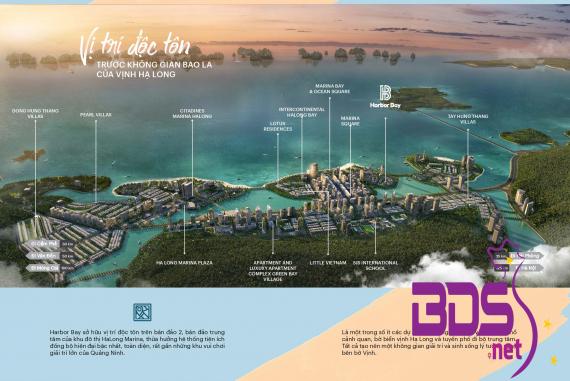 Harbor Bay - Dự án nhà phố thương mại tại TP Hạ Long