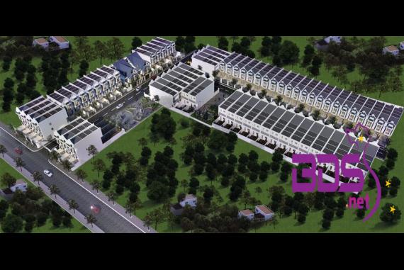 Khu dân cư Phố Xanh - Thiết kế theo phong cách Châu Âu tại Bến Tre