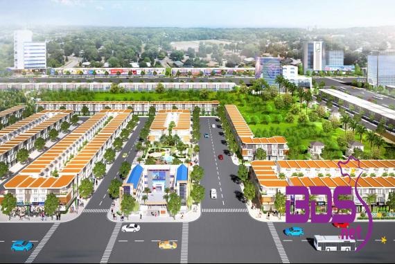 Phố Thương mại Lộc Phát - Đất nền ngay trung tâm đô thị công nghiệp Bến Cát & Bàu Bàng