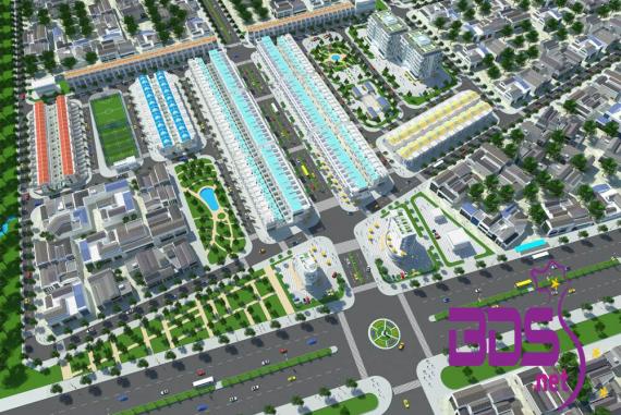 Phúc Long Garden - Vị trí vàng của trung tâm đô thị Bến Lức