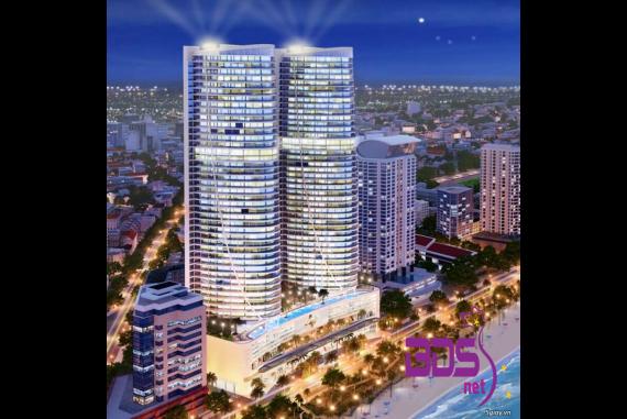 Khu phức hợp Tropicana Nha Trang - Tổ hợp khách sạn và căn hộ cao cấp dọc bờ biển