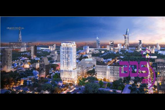 """Grand Central - Tọa lạc ngay """"mảnh đất đắt đỏ bậc nhất"""" của Sài Gòn"""